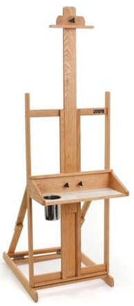 WOODEN EASEL FOR ARTISTS