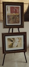 art easel with two frames