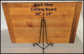 cutting board display holder