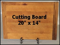 cutting board holder